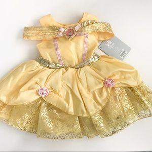 Disney Baby Beauty & the Beast Costume Size 6-12mo